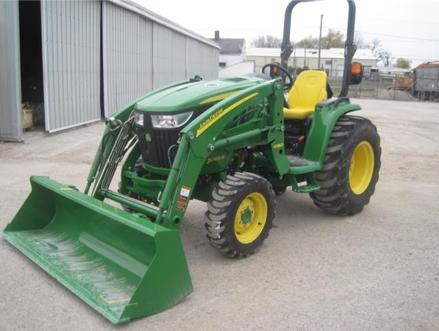 Where to find John Deere 3046R Utility Tractor w Loade in Lewistown