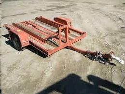 Where to find Ditch Witch 10  Bumper Pull Trailer  11 in Lewistown