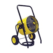 Heater, fan and blower rentals in Central Montana